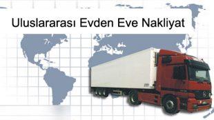 Sinop Uluslararası Evden eve Nakliyat